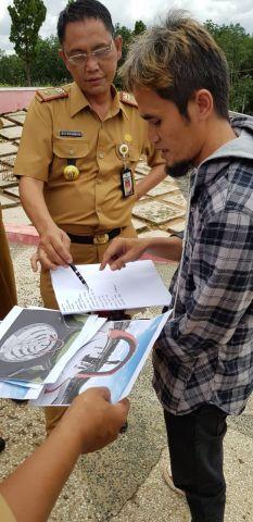 Kunjungan Tugu Ryacudu di Simpang 05 Bersama Pak SekdaKab.